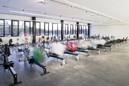 Community Rowing Boathouse in Boston