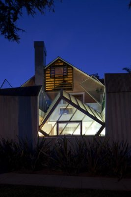 The Gehry Residence in Santa Monica California