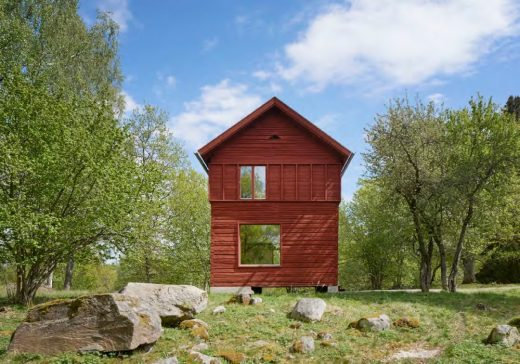 Härbret Summer House in Nannberga by General Architecture