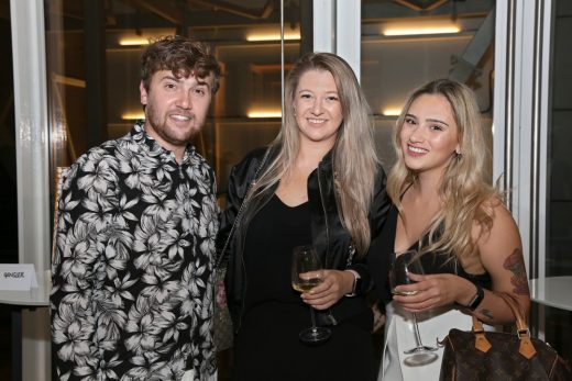 INDEX's Euan McLelland with Michelle Larkworthy and Selini Bishop of Bishop Design (Rogue)