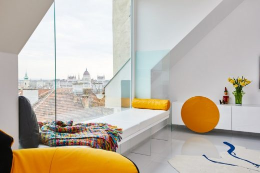 Margeza apartment in Budapest