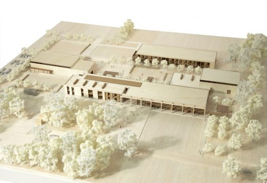 Mill Chase Academy Secondary School Building model