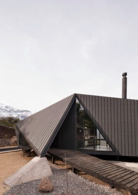 Cabin Development in Chile building design by Gonzalo Iturriaga Arquitectos