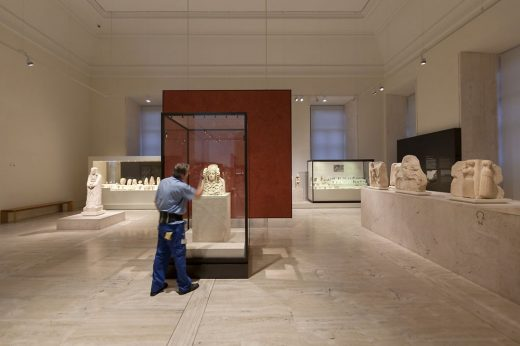National Archaeological Museum of Spain building interior