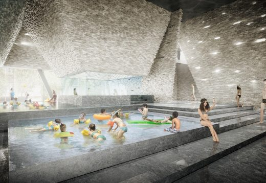 New Aquatics Centre on Copenhagens Waterfront