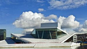 Opera House Oslo waterfront building