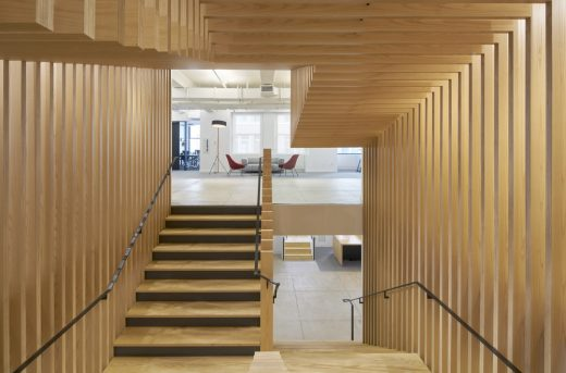Pinterest NY New York timber building interior