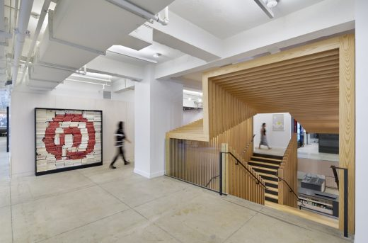 Pinterest New York City wood building interior