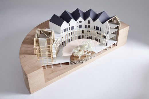 RIBA Gasholder Bases Ideas Competition winning design