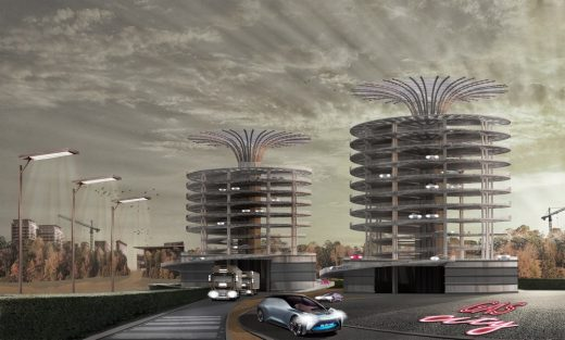 RIBA Gasholder Bases Ideas Competition shortlisted design by CF.Architects