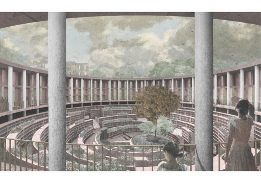 RIBA Gasholder Bases Ideas Competition shortlisted design by 318 Studios