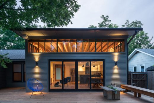 Skyview House in Austin