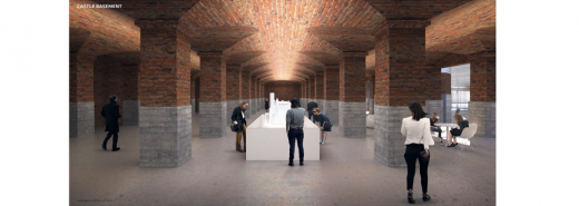 Smithsonian Institution Proposed Castle Basement