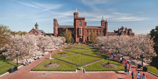Smithsonian Institution Haupt Garden current