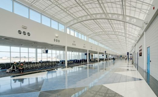 South Bend Regional Airport Indiana building interior