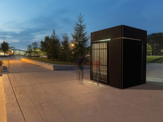 Story Pod, Newmarket, Ontario timber building