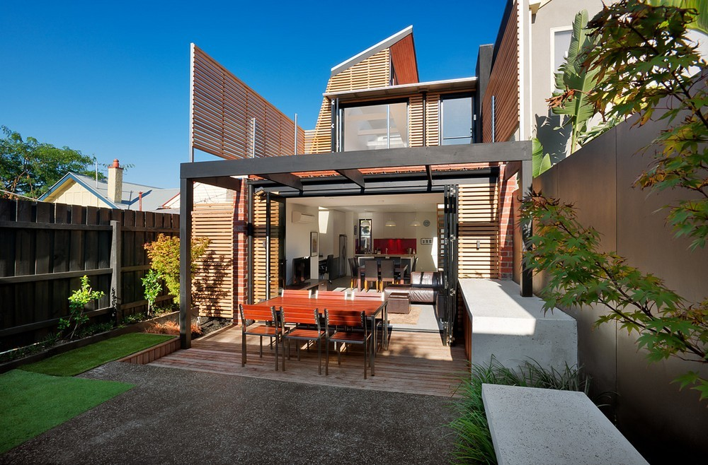 Sustainable Terrace In Melbourne E Architect