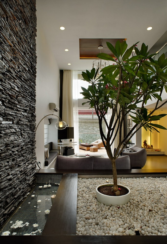 Tall house in pune 2 e architect for Architecture design for home in pune
