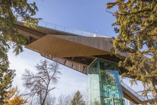 The 100 Street Funicular in Edmonton