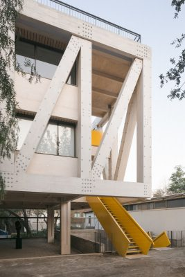 UC Architecture School Building, Santiago, Chile
