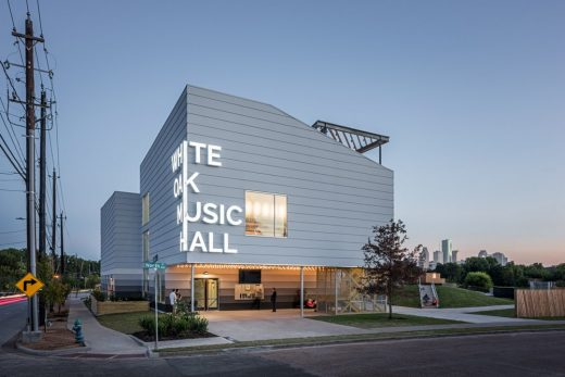 White Oak Music Hall in Houston American Concert Hall Buildings