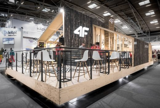 4F Stand at ISPO