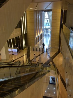 Al Hamra Tower Kuwait City interior