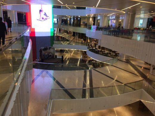 Al Hamra Tower Kuwait City retail mall