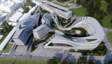 Beko Masterplan in Belgrade design by Zaha Hadid Architects