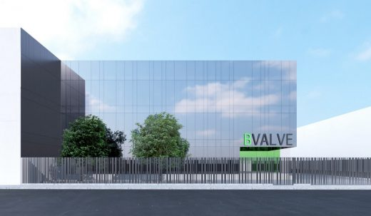 Bvalve Office Building in Valencia