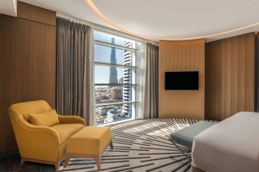 Double Tree Hilton near Business Bay Dubai Hotel