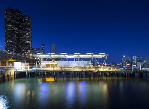 East 34th Street Ferry Terminal building design by Kennedy & Violich Architecture USA