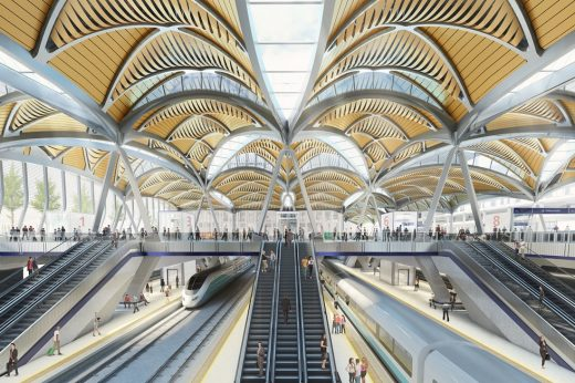New HS2 Terminus Euston Station Building