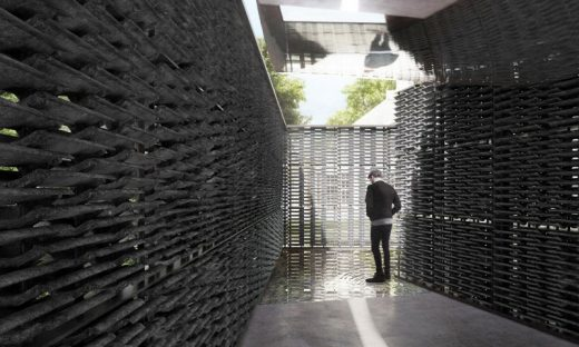 Serpentine Pavilion 2018 design by Frida Escobedo architect