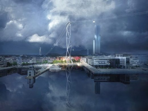 Gothenburg Cable Car: The Gondola Project design by UNStudio