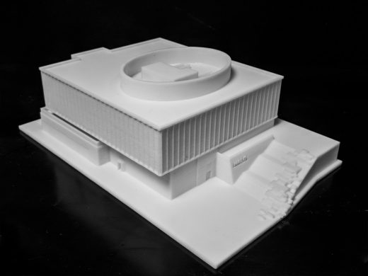 HALO Kilmarnock building model