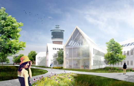 Toender City Hall Extension building design by HAO / Holm Architecture Office