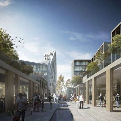 Haptic Architects Straume Competition Norway