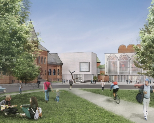 Hood Museum of Art Building Renovation - New Hampshire Architecture