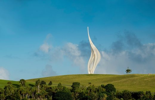 new sculpture by Gerry Judah for Gibbs Farm Sculpture Park, New Zealand