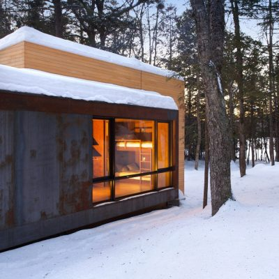 New Home in  the Laurentides region of Quebec, Canada