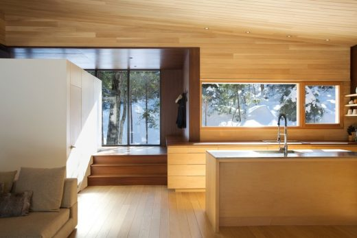New House in the Laurentides region of Quebec