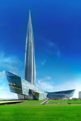 Gazprom Tower St Petersburg building design