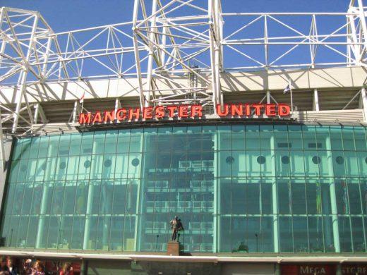 Manchester United Stadium Old Trafford Ground