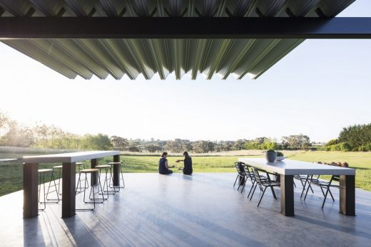 Montoro Wines New South Wales building by Source Architects