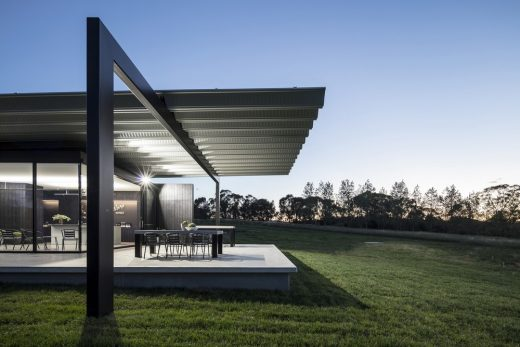 New South Wales winery building
