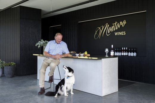 Montoro Wines New South Wales building