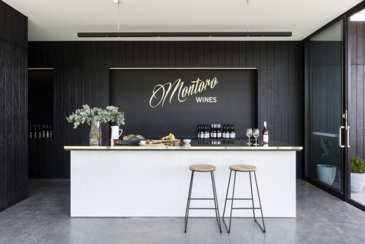 Contemporary Australian Winery Project in New South Wales