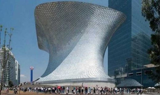 Soumaya Museum Mexico City building