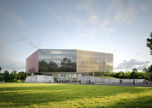 New Courthouse in Lille building design by OMA